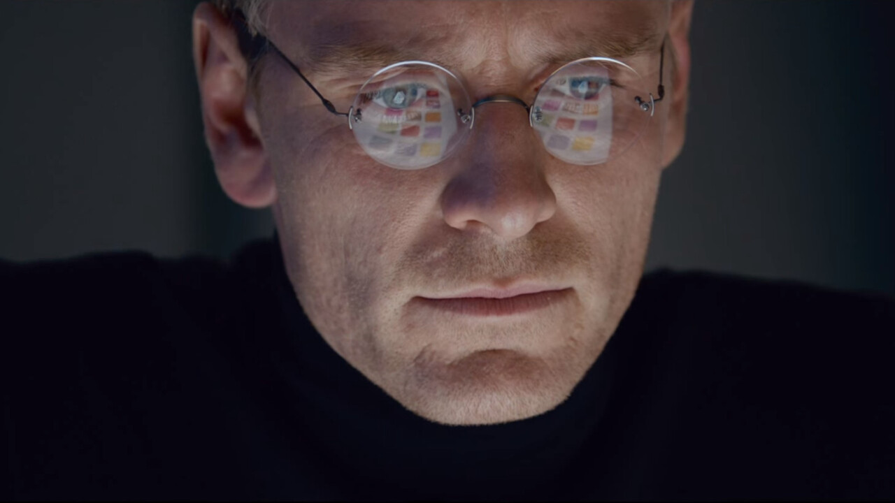 Want to watch the new Steve Jobs movie? Yeah, no one else does either