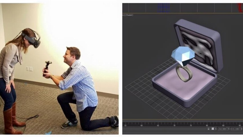 A Valve employee just proposed to his girlfriend in VR