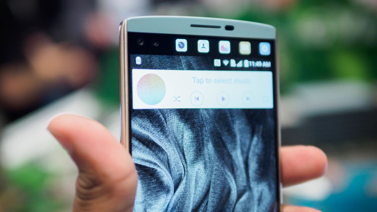 Hands-on: LG's V10 beats the G4 with great design, two screens and crazy video chops