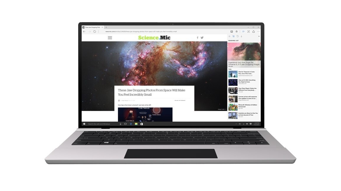 Microsoft's Edge browser can beam videos to your TV, Chromecast-style