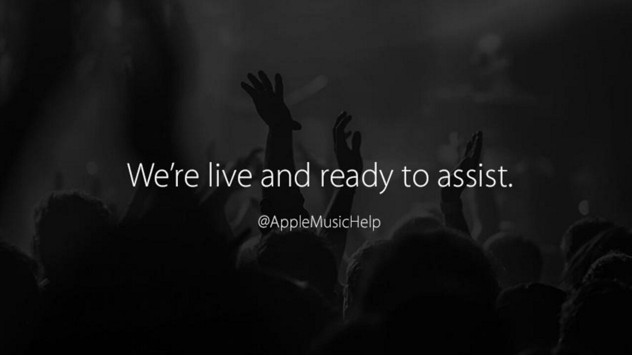 Apple pushes further into social media with Twitter account for Apple Music support