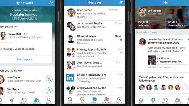 LinkedIn simplifies, de-sterilizes with its Voyager mobile app