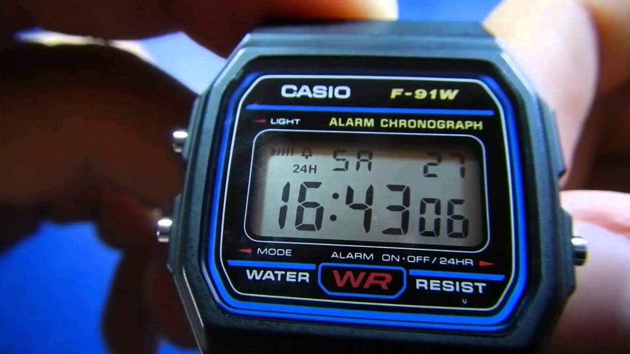How the Casio F-91W became the world's most versatile (and dangerous) watch