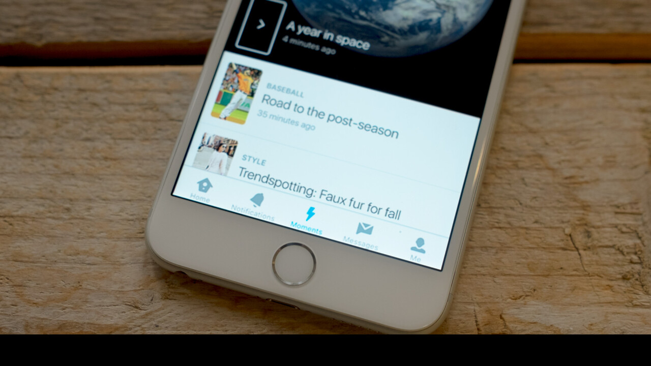 Twitter just made the biggest change since its invention: Moments
