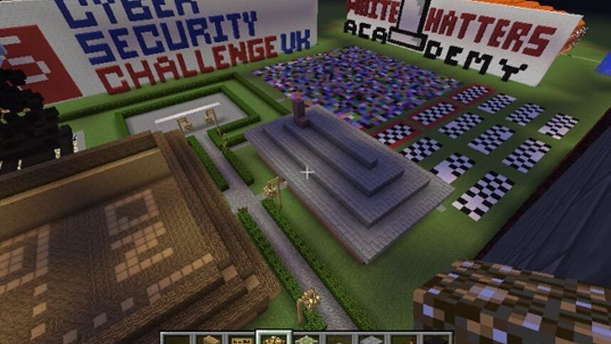 Minecraft is being used to seek out cybersecurity talent