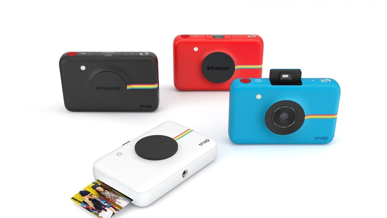 Ideal Gifts: Polaroid's Snap camera brings back instant photos for a nostalgic holiday season