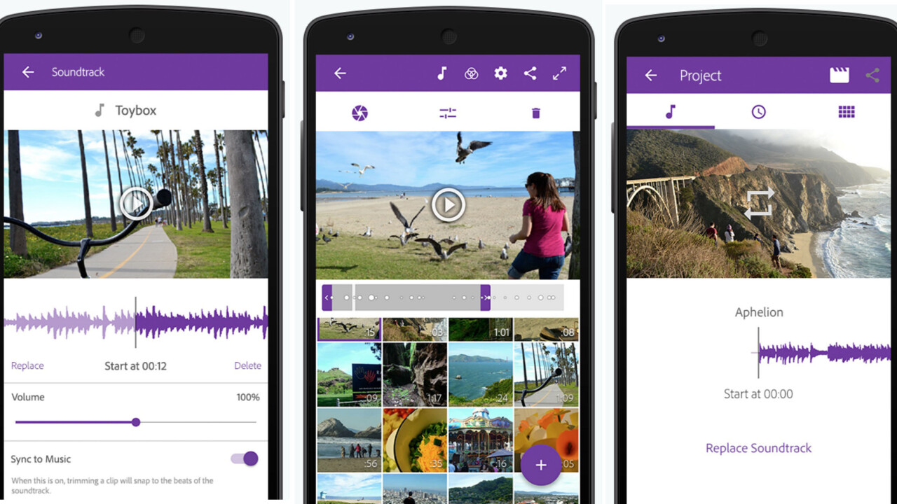 Adobe brings its Premiere video editor to Android
