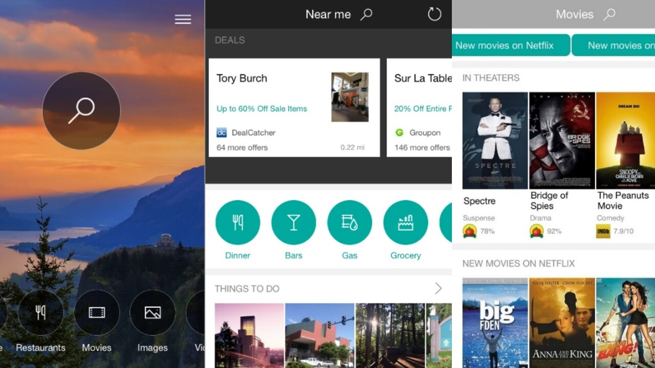 Bing completely redesigns iOS app with focus on deep-linking and news discovery