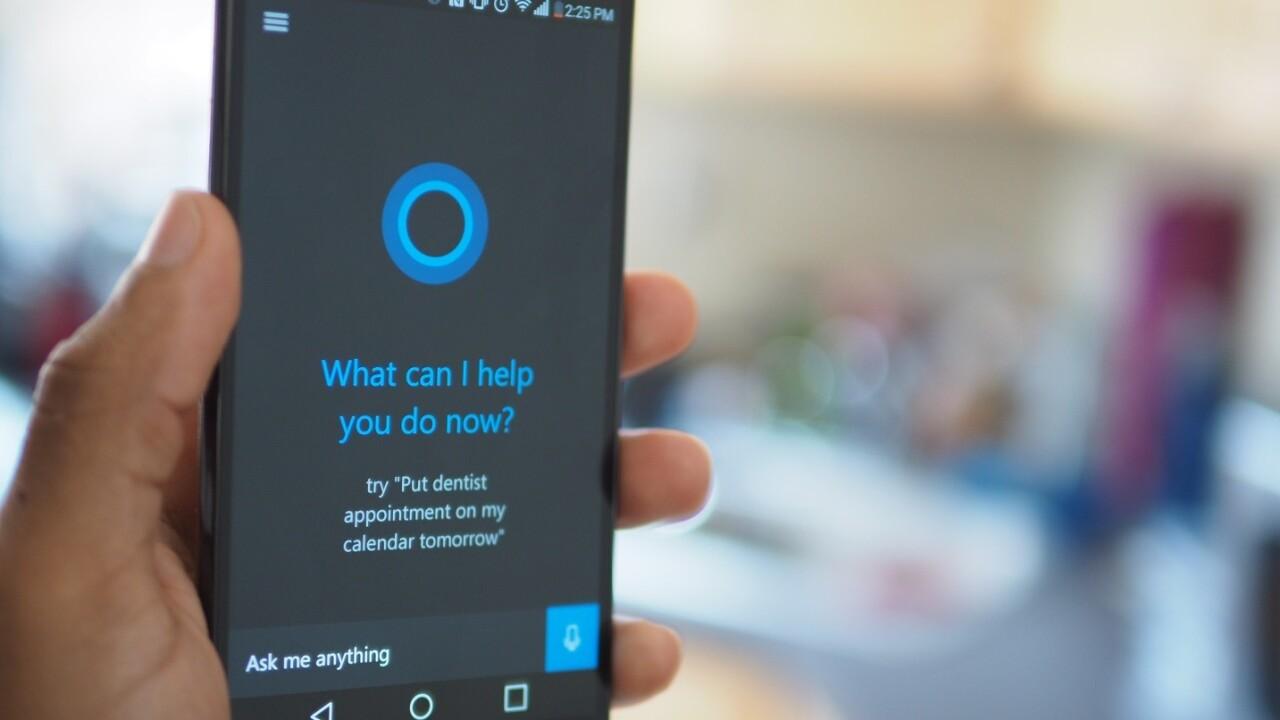 Microsoft removes 'Hey Cortana' feature from Android app