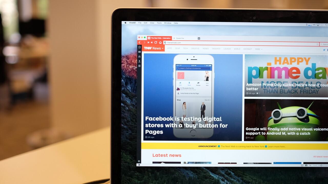 Vivaldi's Chrome alternative hits beta, adds new features