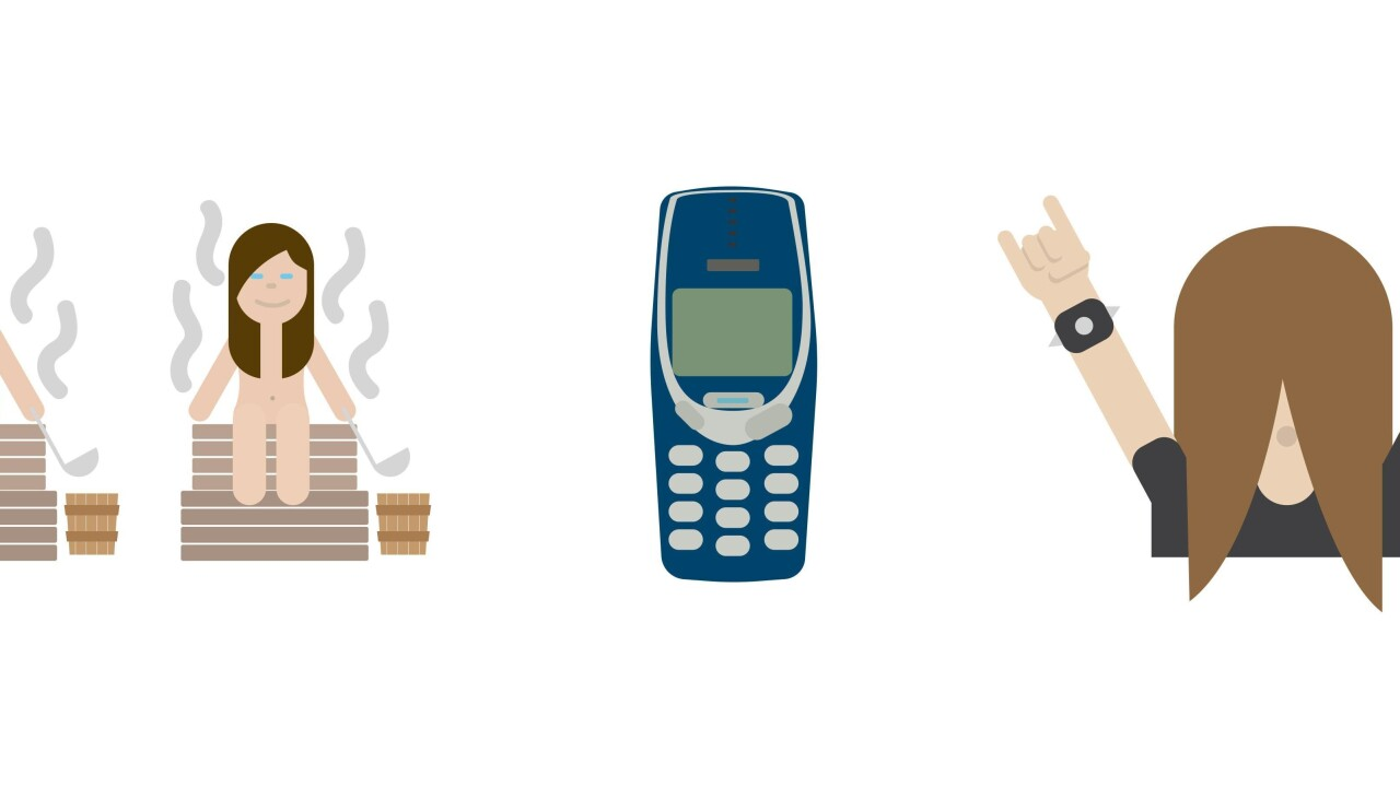 Finland becomes the first country to launch its own emoji