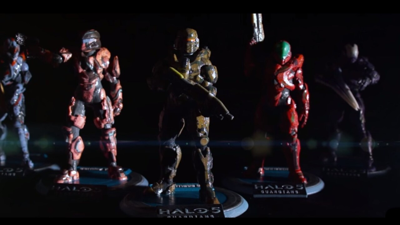 You can now order a custom 3D printed figure of your own Halo 5 Spartan