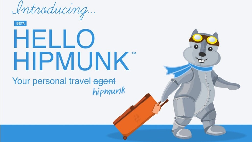 Hipmunk Hello uses artificial intelligence to plan your next vacation for you