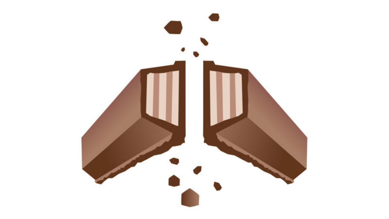 Give us a break KitKat, emojis ain't free ad slots