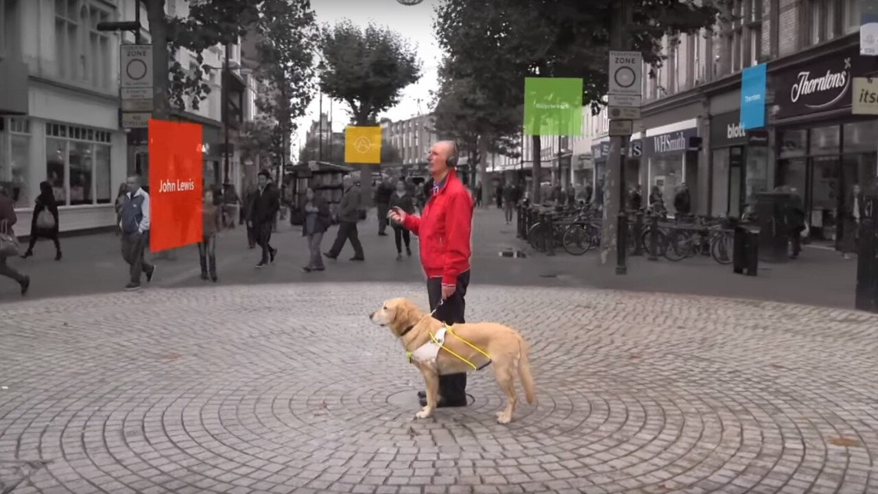 Microsoft's new 3D audio tech helps the visually impaired get around cities independently
