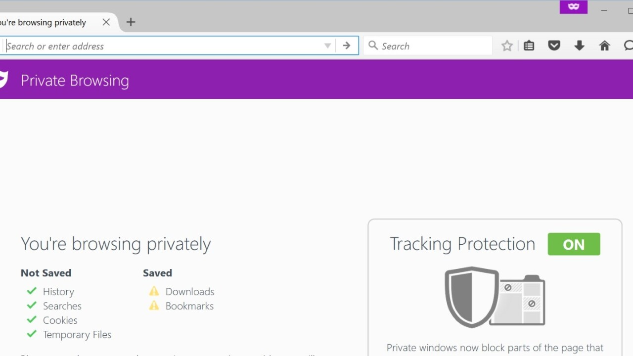 Firefox adds Tracking Protection to make your Private Browsing sessions more private
