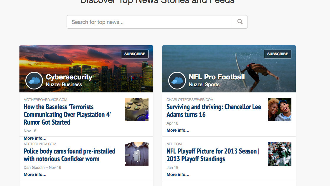 Nuzzel moves beyond Twitter for digging up the best news