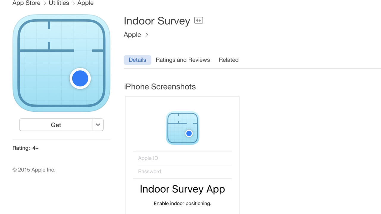 Apple's cool 'Indoor Survey' app maps venues using radio frequencies, but you can't use it