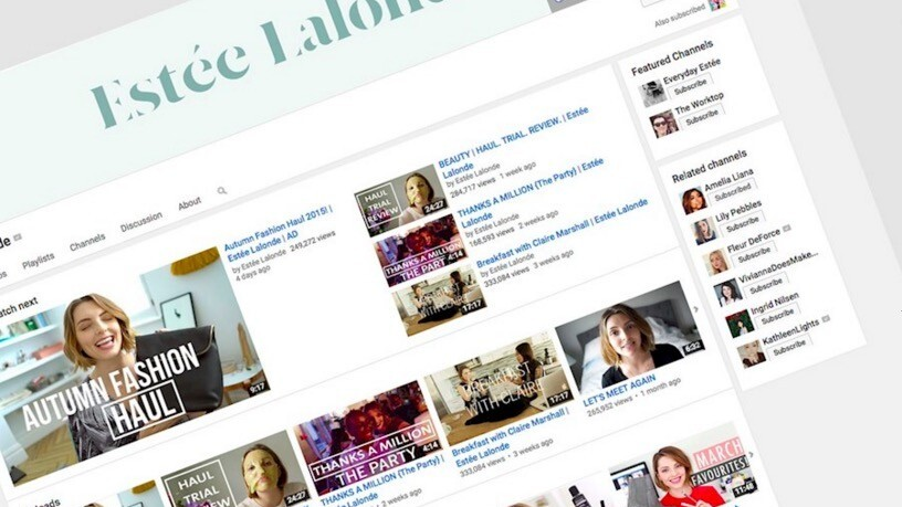 Estée Lalonde: The good, the bad and the ugly side of life as a YouTuber