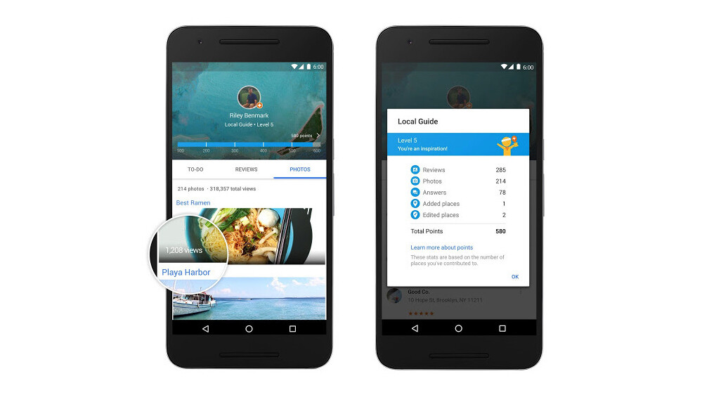 Google is giving away Drive storage to get more restaurant reviews for Maps