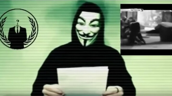 """Anonymous declares """"total war"""" on Islamic State after Paris attacks"""