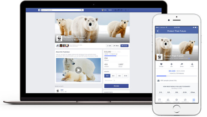 Facebook's making it easier to give to charity, but you give up your credit card details
