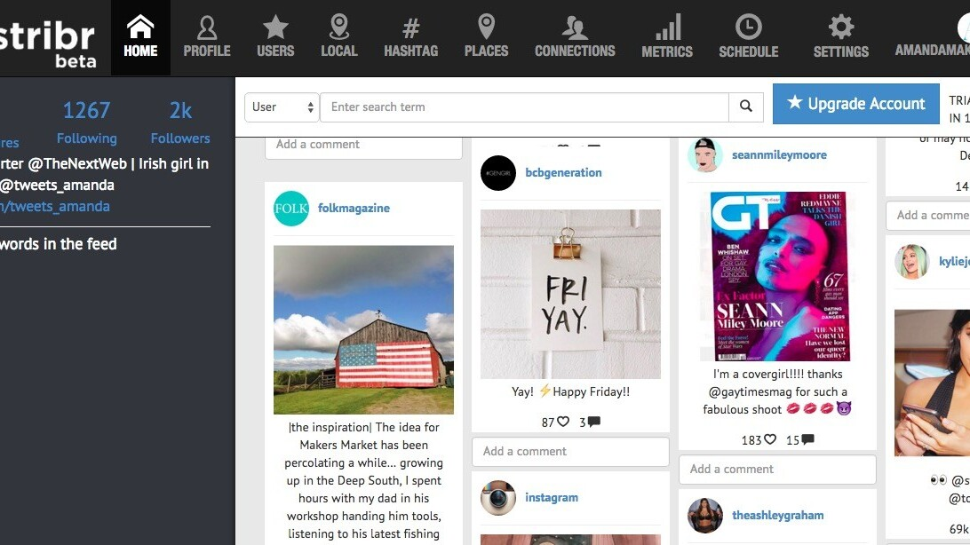 Stribr: A new tool to manage all of your Instagram needs