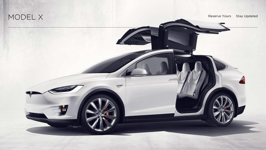 Tesla's cheapest Model X SUV will set you back $80,000