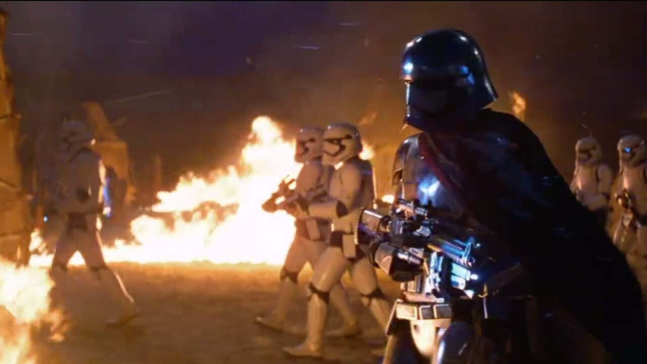 You can stream John Williams' 23-track score for 'Star Wars: The Force Awakens' right now