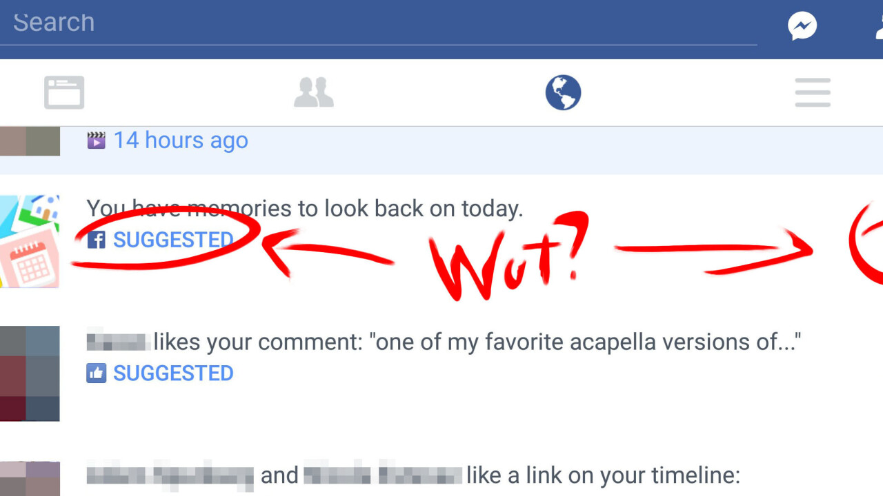 Facebook is testing 'suggested' notifications so you don't miss important interactions