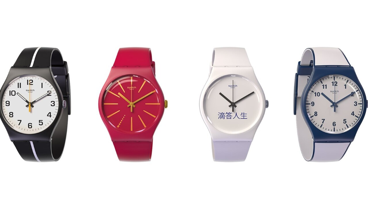 Swatch teams up with Visa to let you pay with a flick of the wrist in 2016