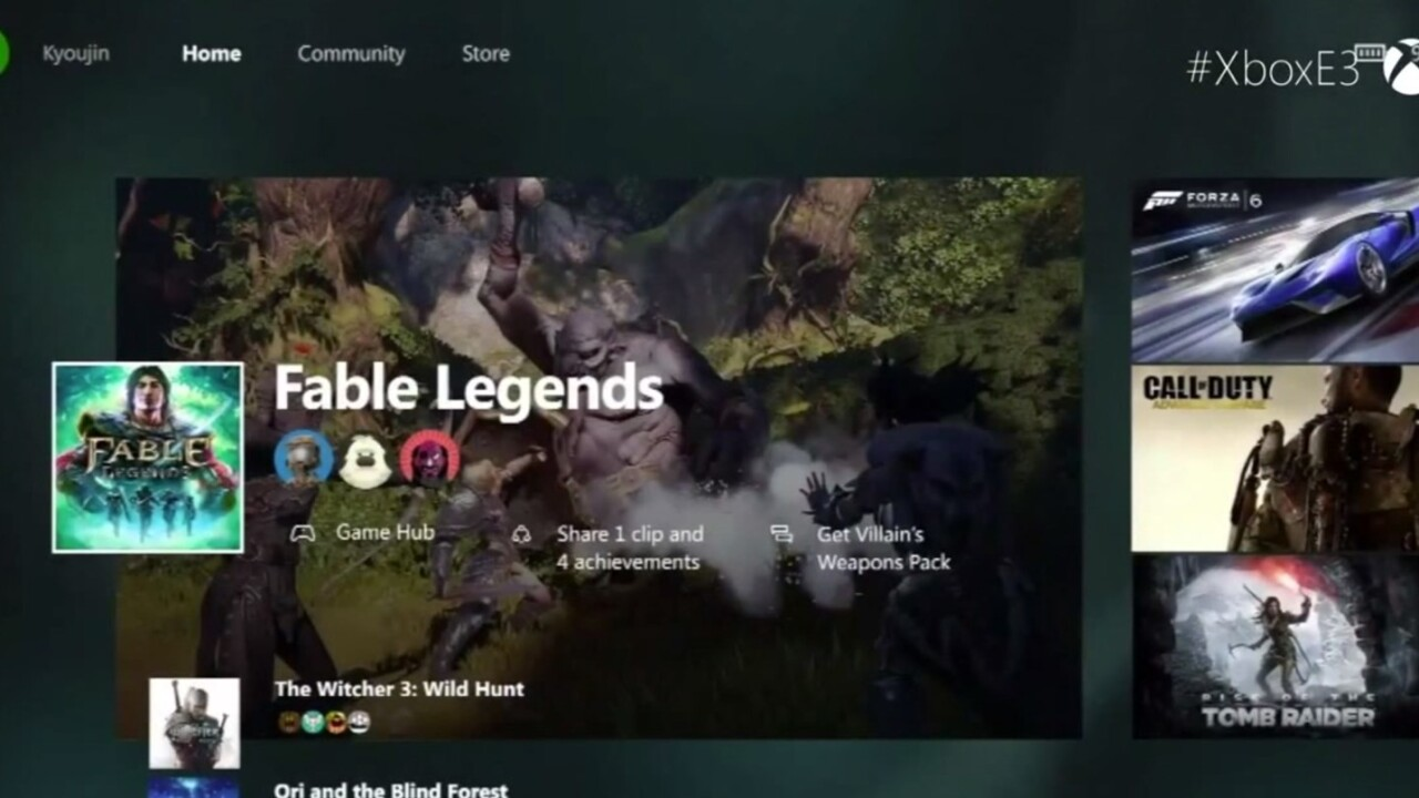 Windows 10 comes to Xbox One today
