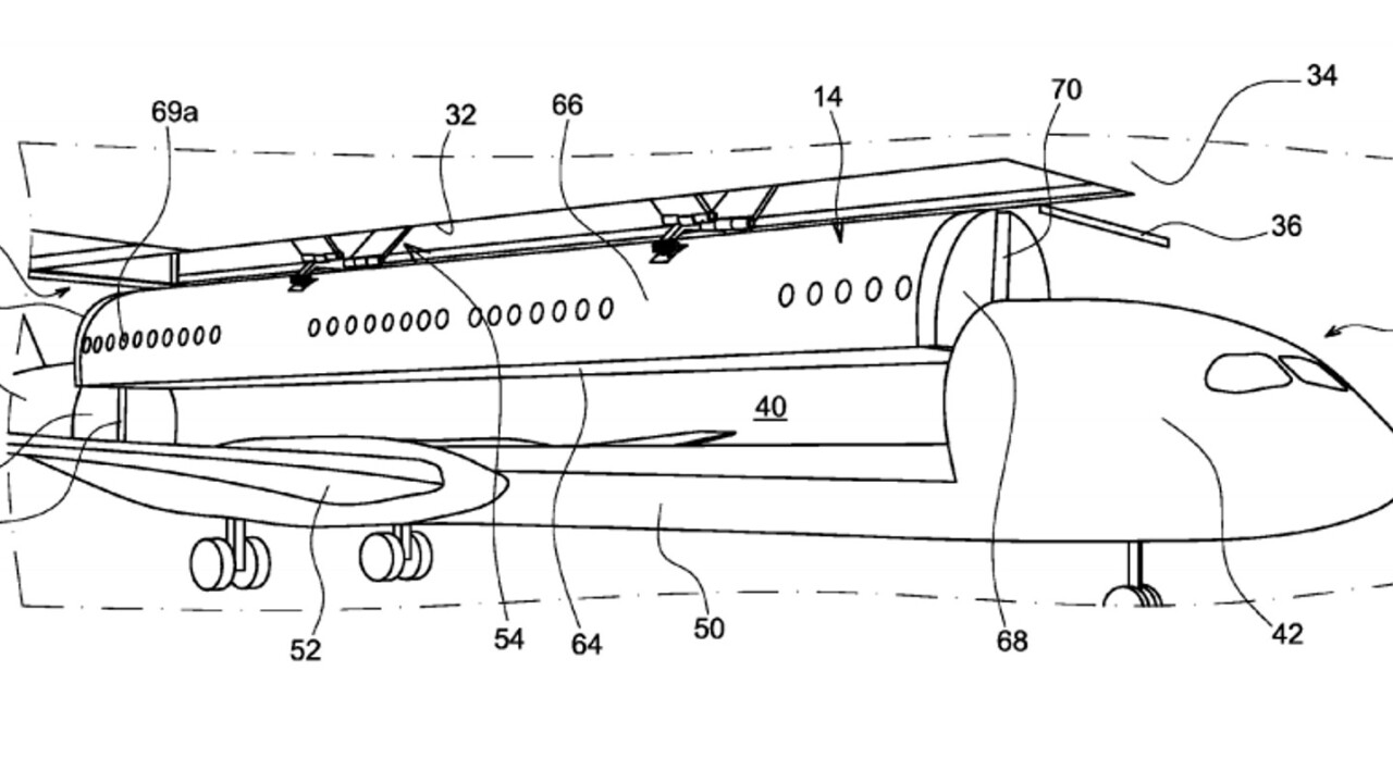 Future Airbus flights could see you loaded like luggage