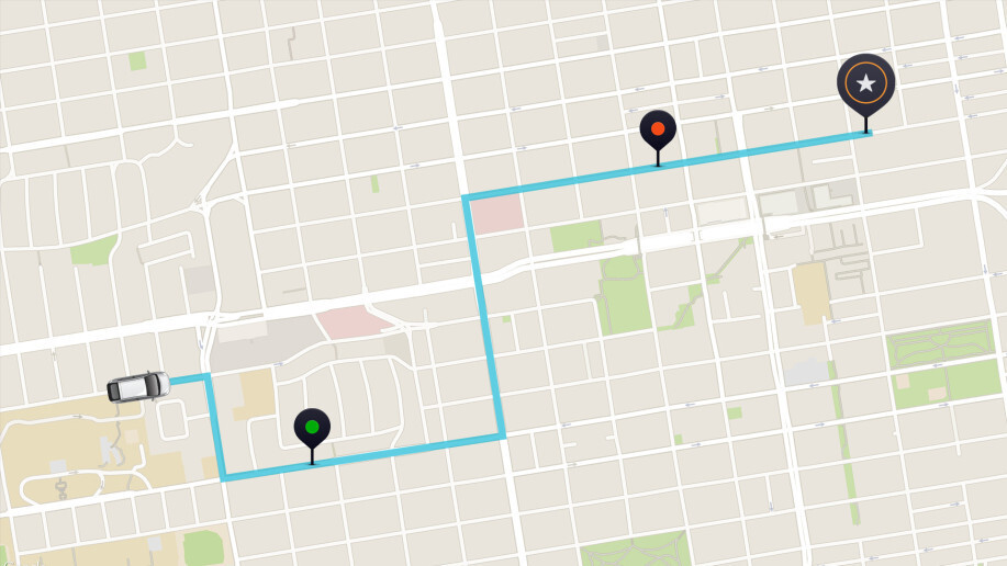 Uber is creating a ride-sharing mesh network with its new 'Destinations' feature