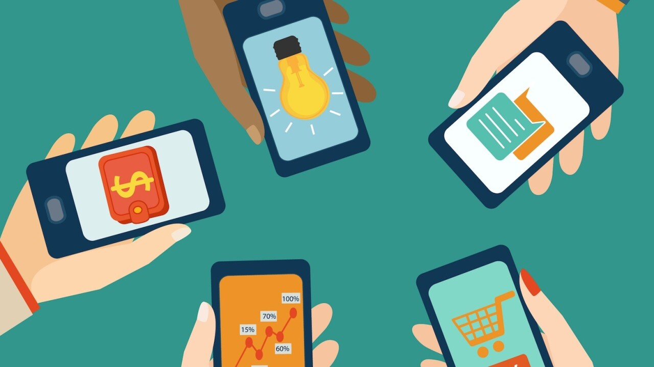 How mobile became the perfect home for flat design