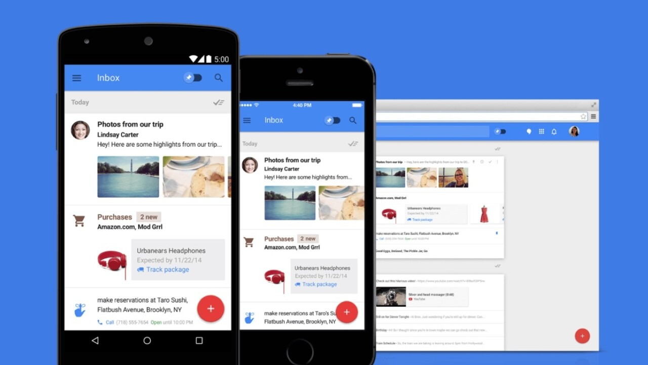 TNW's Apps of the Year: Inbox by Gmail is a hint at the future of email