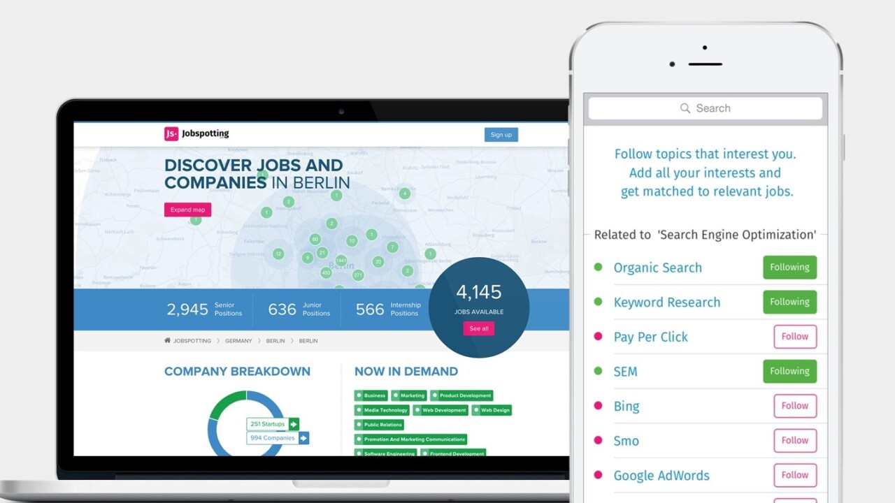 Jobspotting helps recruiters hire the right candidates with a new analytics dashboard