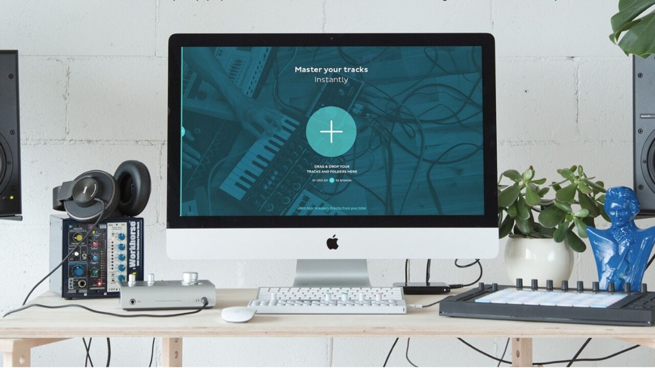 Make your own music sound louder and prouder with Landr's new Mac app