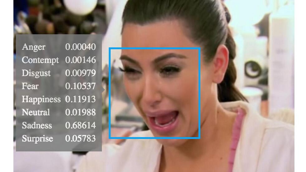 Yep, that Microsoft emotion-detecting AI is super good at its job