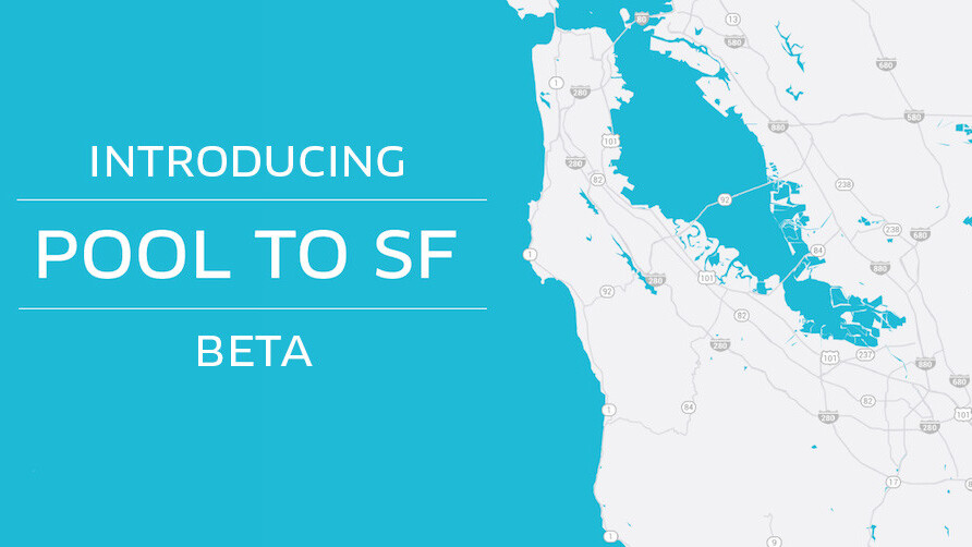 Uber's experimental 'Pool to SF' lets Bay Area residents get to the city