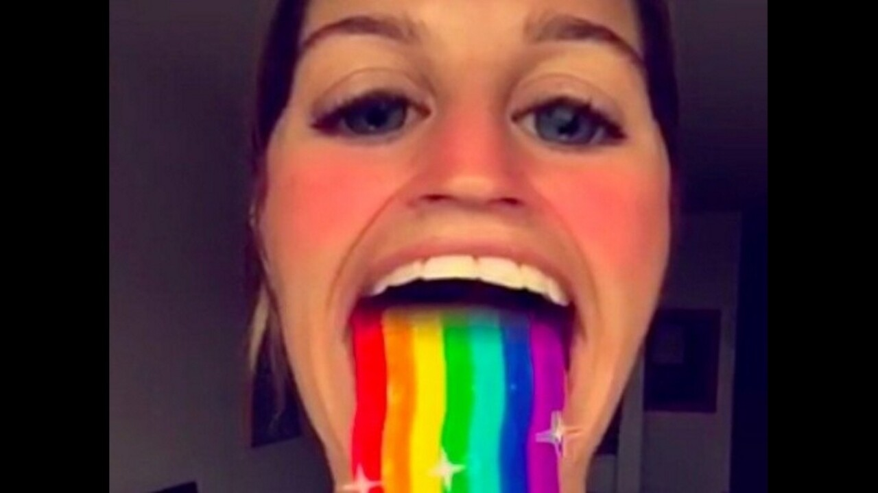 Snapchat adds filters to the rear camera so you don't have to selfie to rainbow barf