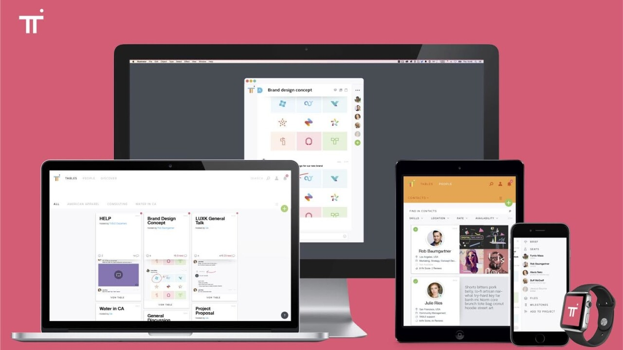 Table offers seamless chat collaboration between companies and freelancers