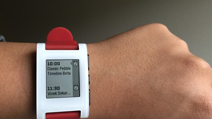 Pebble is updating its original smartwatch with its new UI and 'unlimited' apps