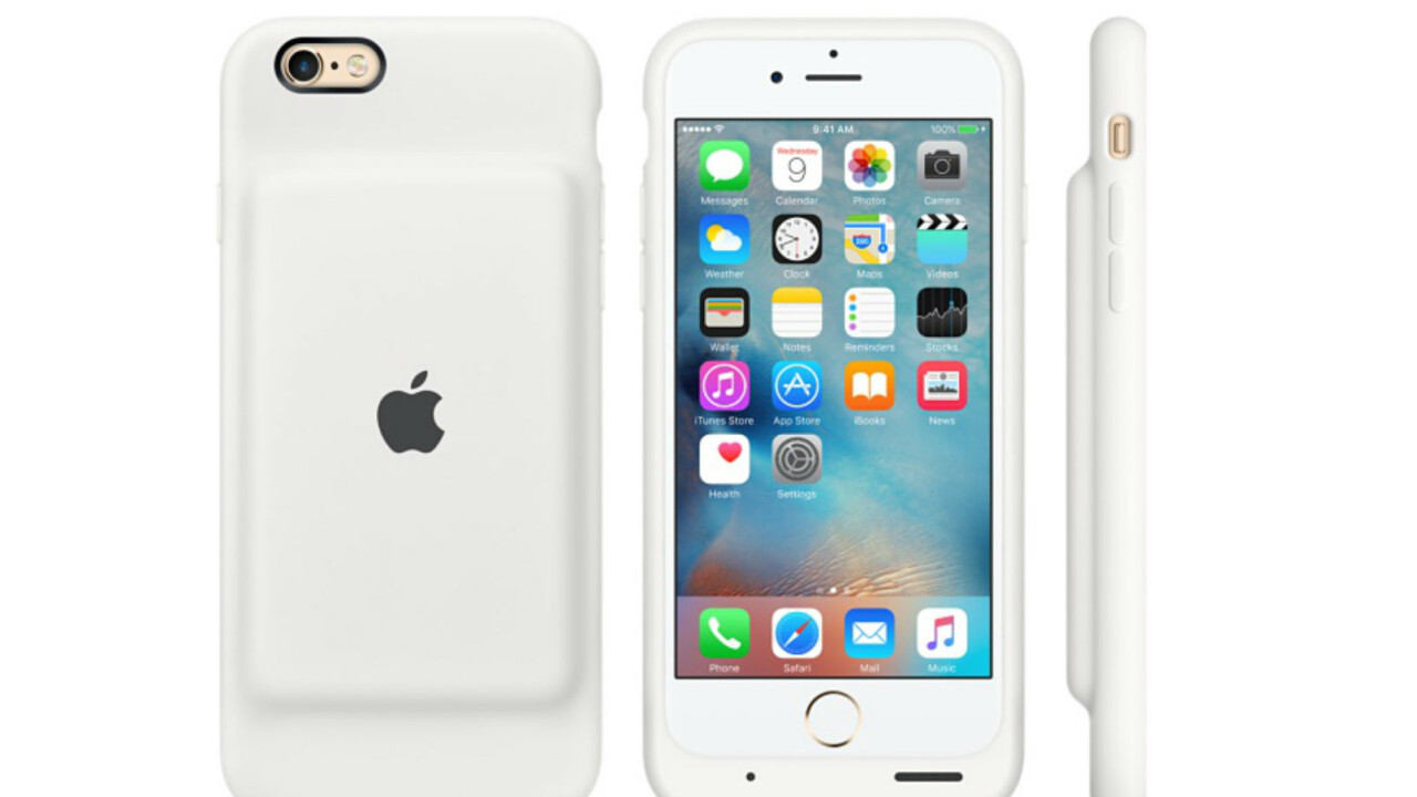 Apple finally caves, launches $99 battery extension pack