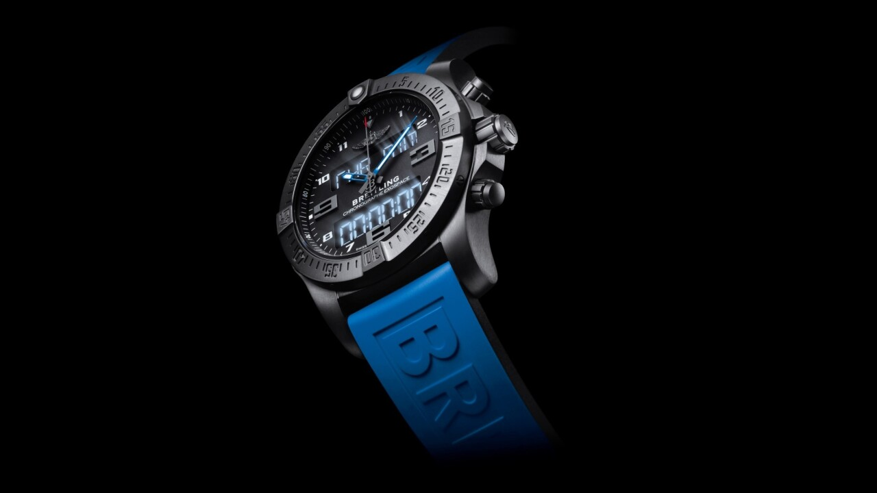 Breitling's $8,900 Exospace B55 is a smartwatch for super-rich aviation enthusiasts