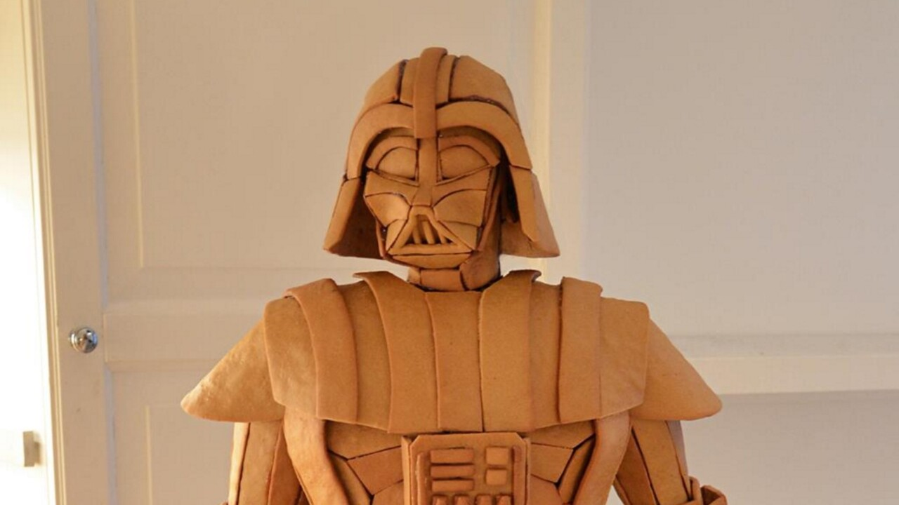 This gingerbread Darth Vader is all the Star Wars you need this holiday