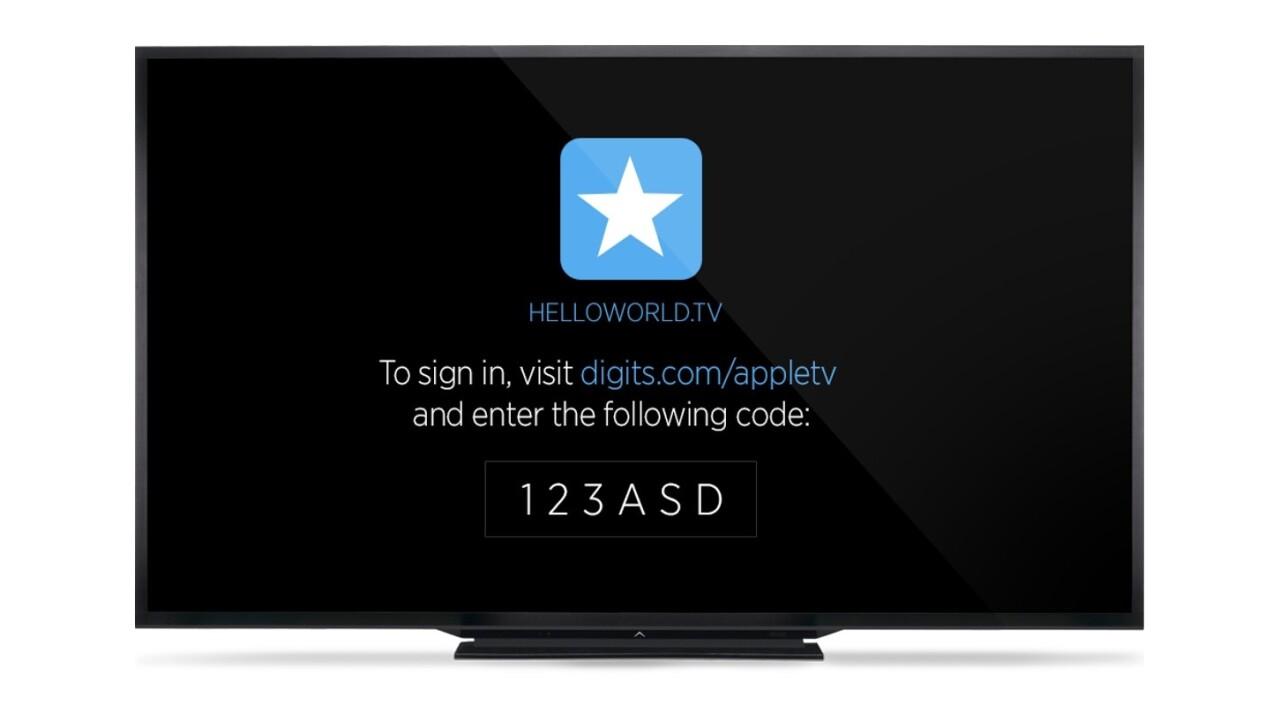 Twitter opens up Digits and Crashlytics for Apple TV apps