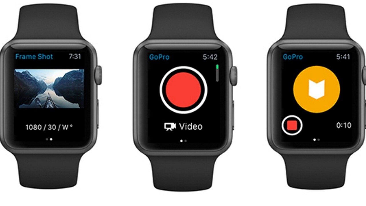 GoPro adds new capture features to its mobile apps and support for Apple Watch