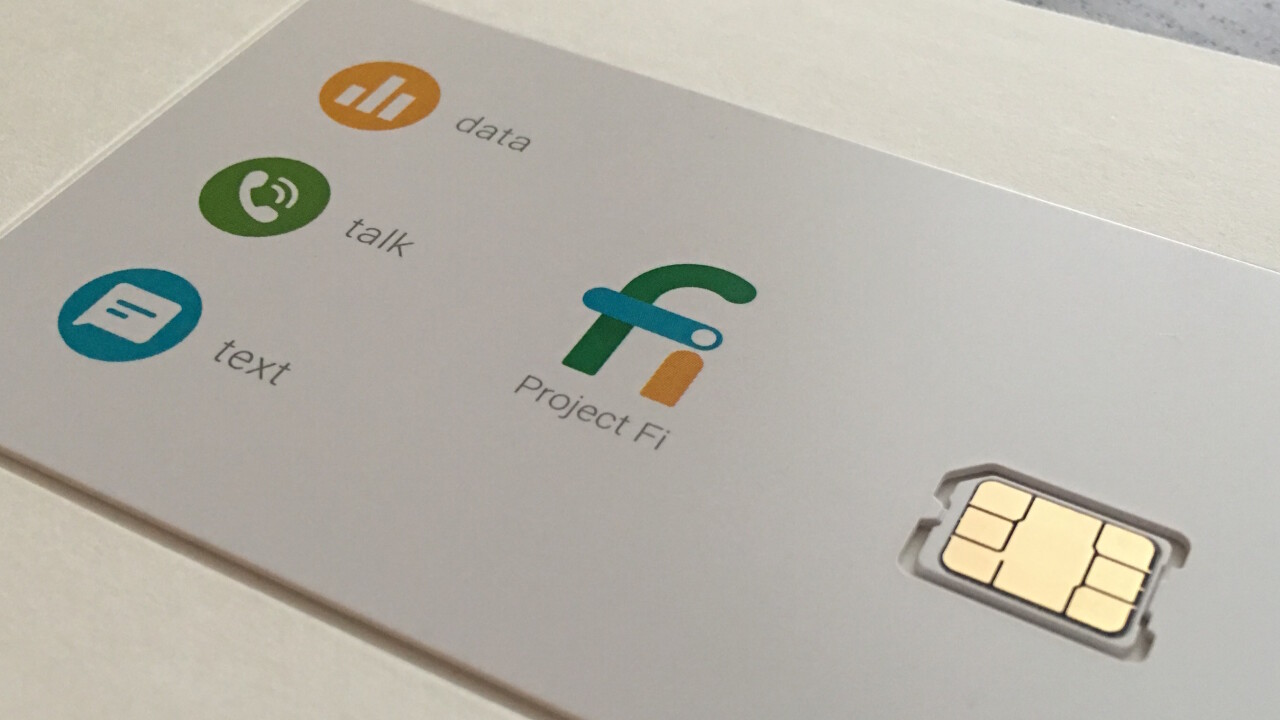 Project Fi now supports 'data only' devices like tablets
