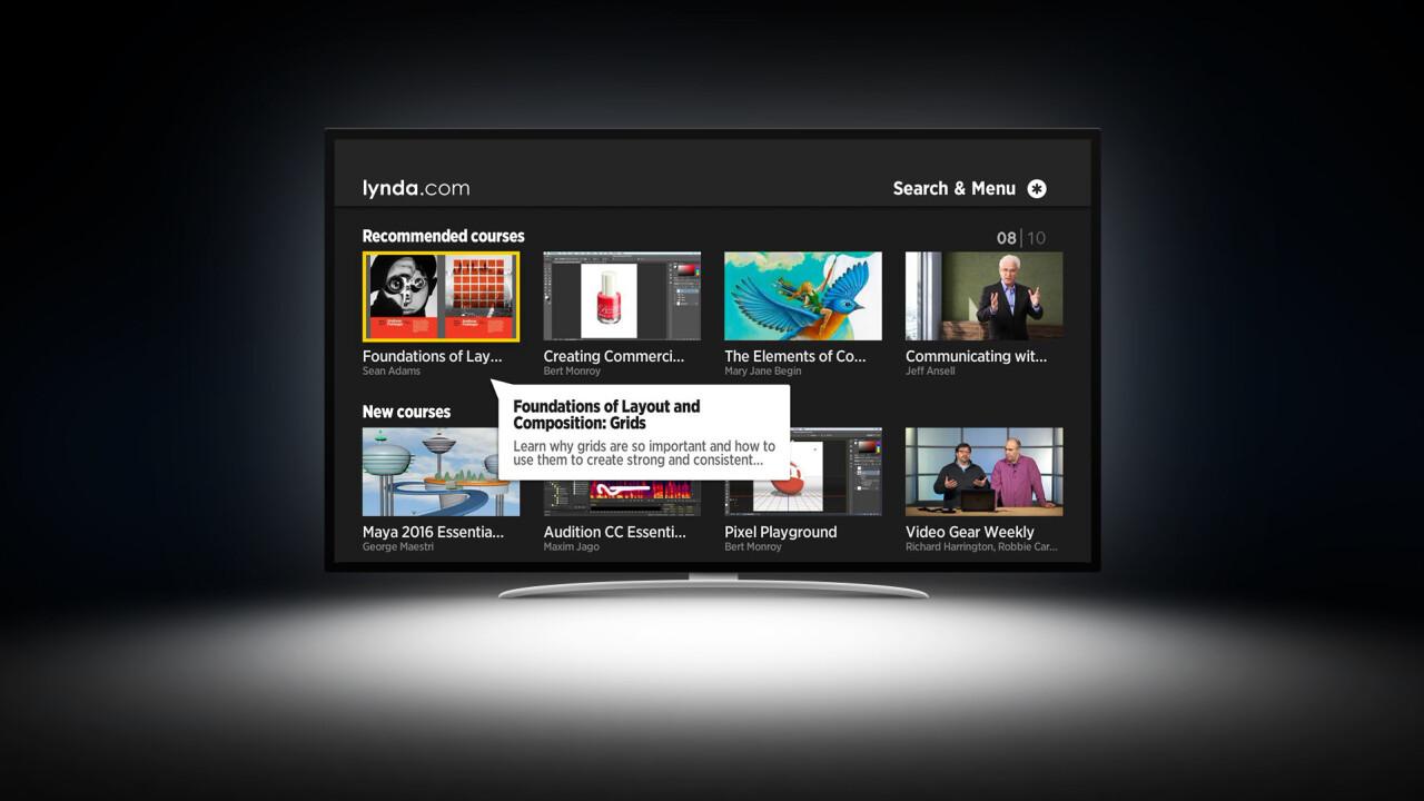 Lynda.com debuts Roku channel to learn on the big screen
